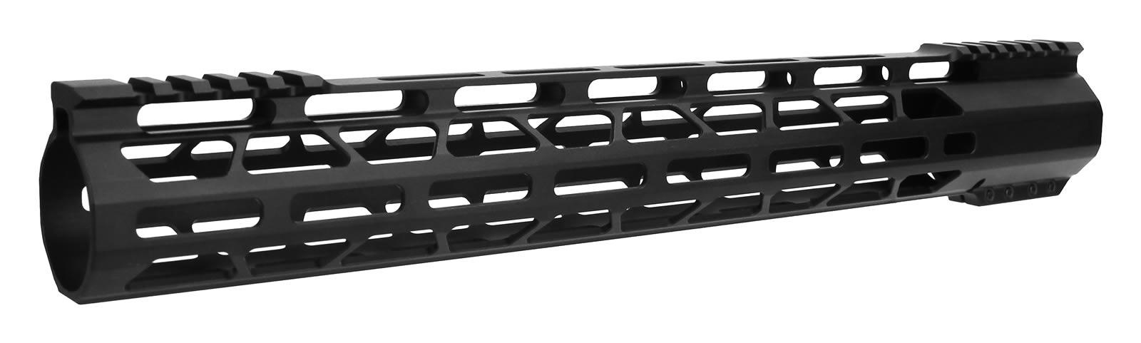 Ar 10 Rail Cbc Gen 3 15 308 Ultra Slim M Lok Free Float Clamp On