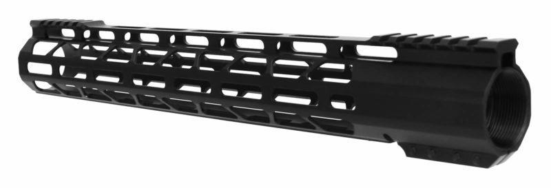 AR-10 Hanguard - Slim M-LOK Free Float Rail