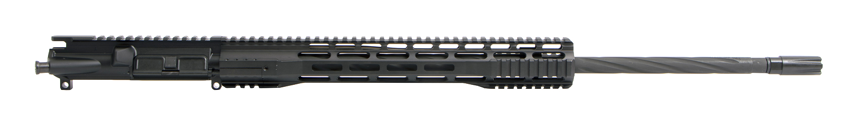 "AR-15 Upper Assembly 24"" Wylde Spiral Fluted"