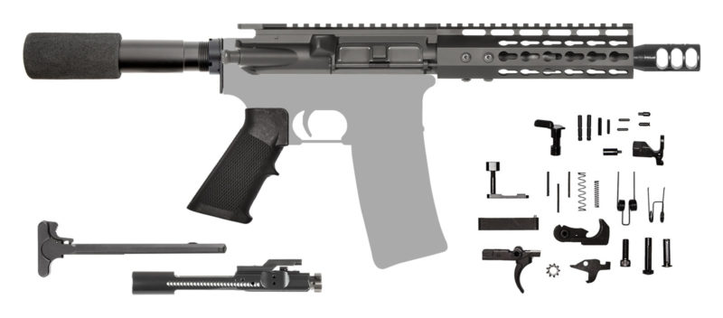 AR-15 AR Pistol Kit .223 NATO Keymod