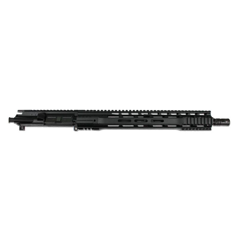 ar 15 blemished upper assembly 16 223 5 56 1 8 15 cbc arms gen 3 m lok ar 15 handguard rail