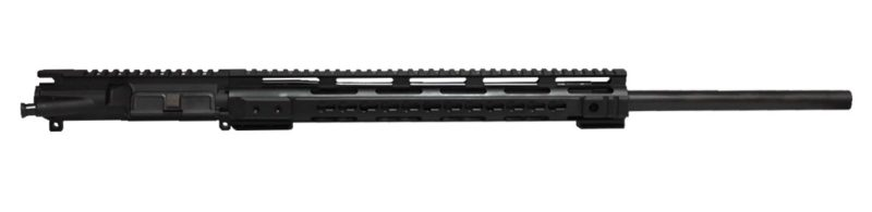 ar 15 blemished upper assembly 24 223 5 56 1 8 bull barrel no flute 15 cbc arms keymod ar 15 handguard rail