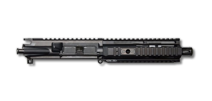 ar 15 blemished upper assembly 7 5 300 aac 1 8 7 hera arms irs ar 15 handguard rail