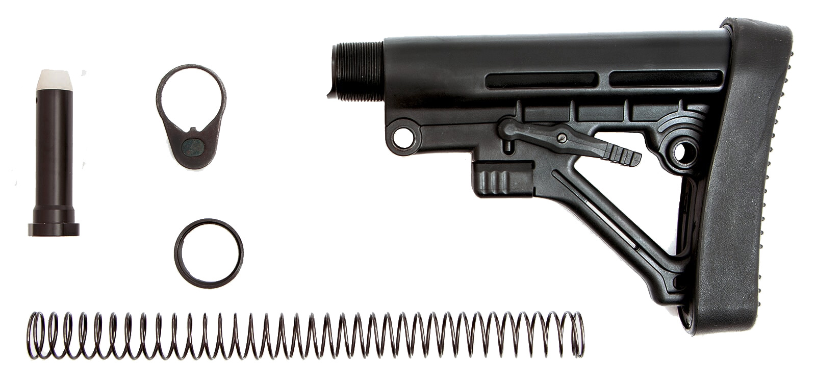 ar-15-buttstock-kit-buttstock-buffer-tube-carbine-buffer-recoil-spring-receiver-end-plate-extension-castle-nut-1