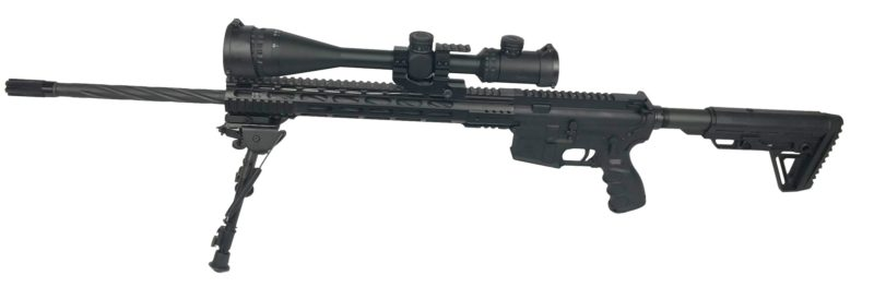 ar 15 complete rifle cbc industries 24 inch 223 wylde m lock lightweight rifle scope bi pod