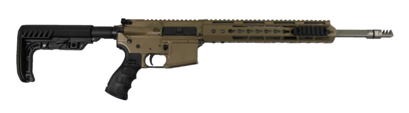 ar 15 complete rifle cbc industries limited edition high precision triton flat dark earth rifle 300aac minimalist buttstock
