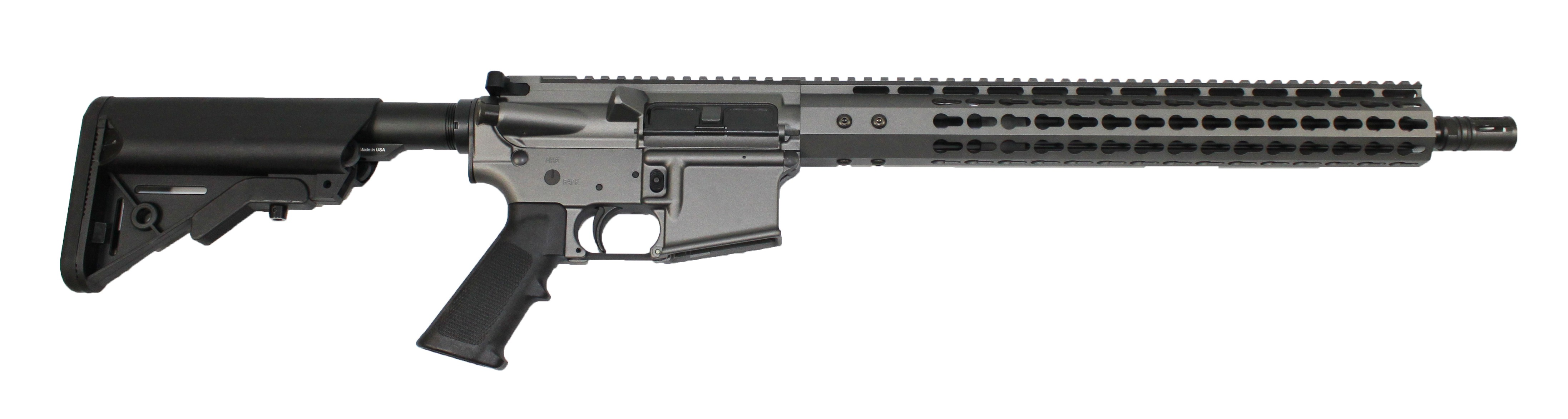 ar 15 complete rifle cbc industries limited edition tungsten rifle 300aac sopmod buttstock