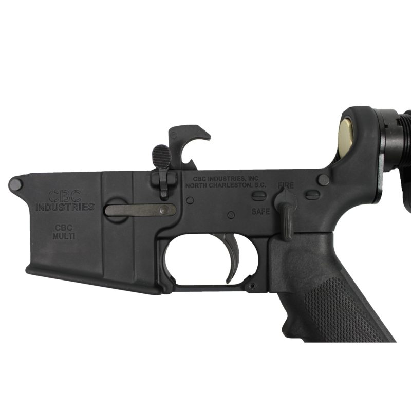 ar 15 lower cbc industries complete lower grip adjustable buttstock 2