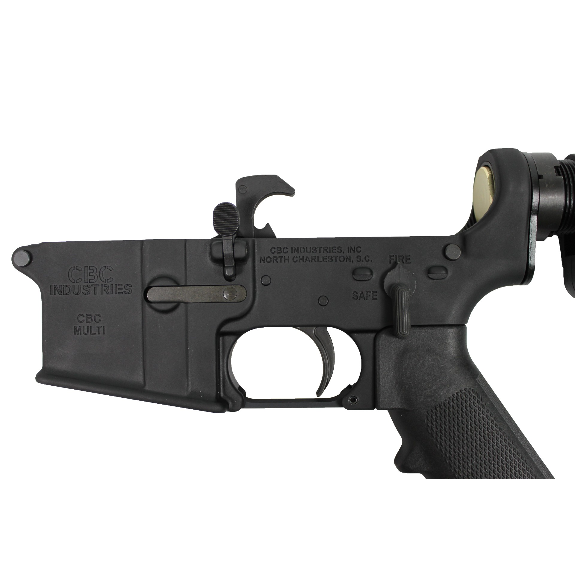 AR-15 Lower - CBC Industries Complete Lower / Grip / Adjustable Buttstock