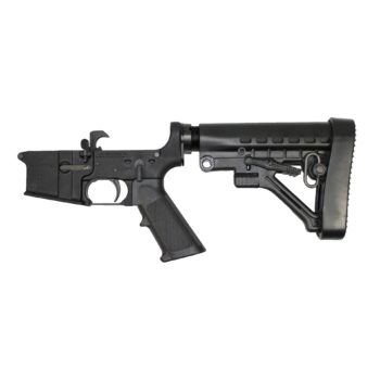 ar 15 lower cbc industries complete lower grip adjustable buttstock