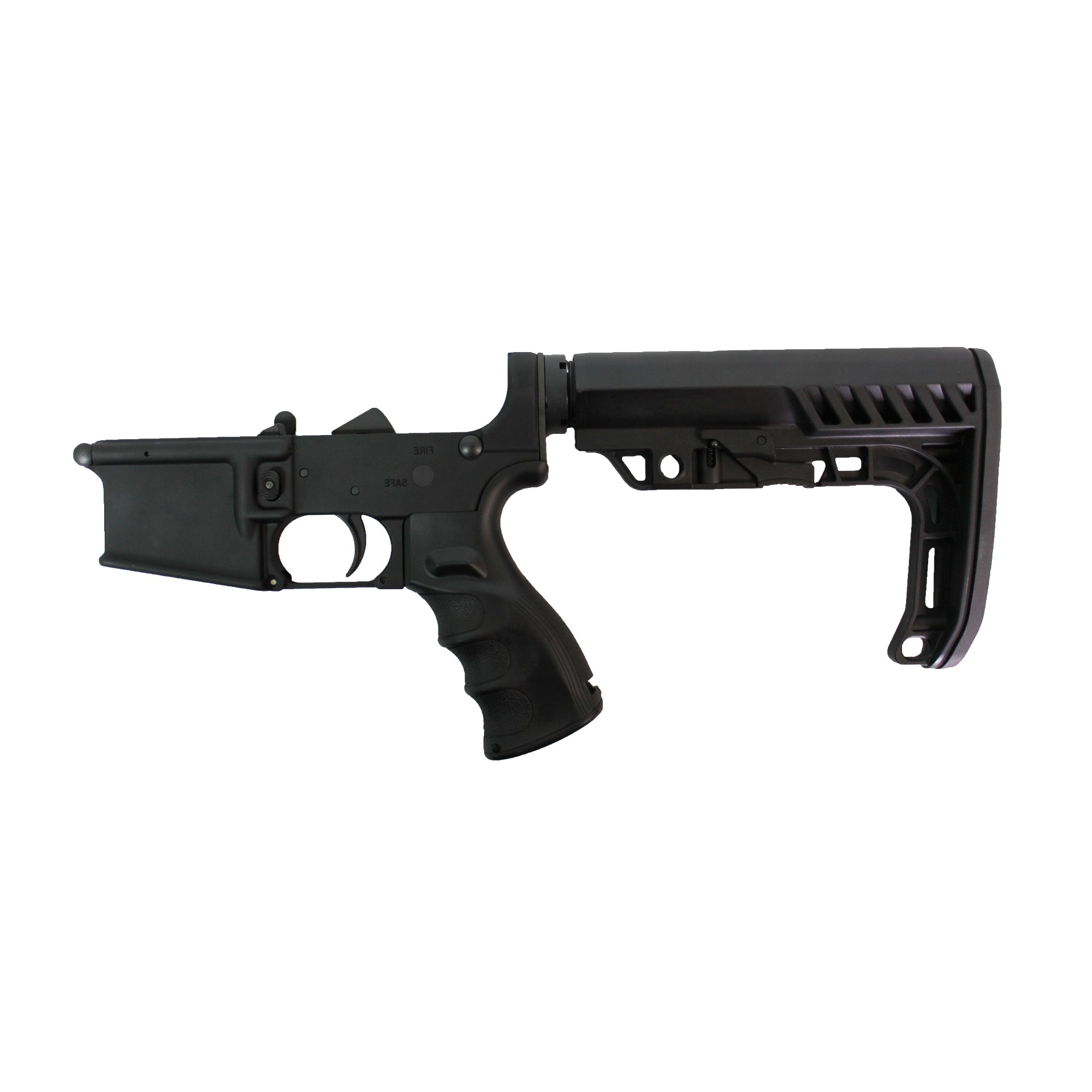 ar 15 lower cbc industries complete lower minimalist buttstock enhanced grip