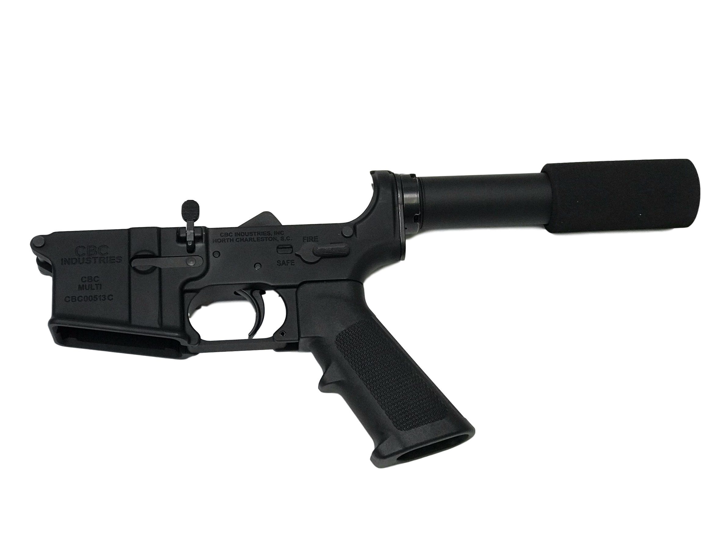 ar 15 lower cbc industries complete pistol lower grip