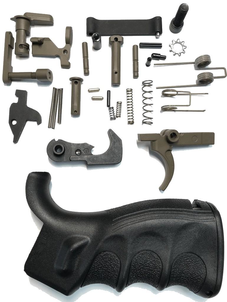 ar 15 lower parts kit craig sawman sawyer special edition