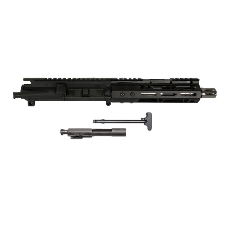 ar 15 pistol assembly 7 5 stainless steel 7 cbc arms mlok rail 2