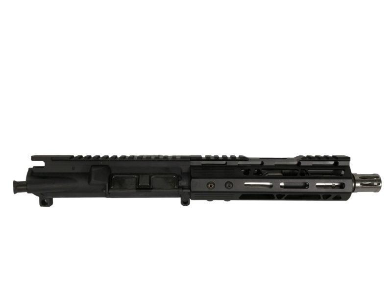 ar 15 pistol assembly 7 5 stainless steel 7 cbc arms mlok rail
