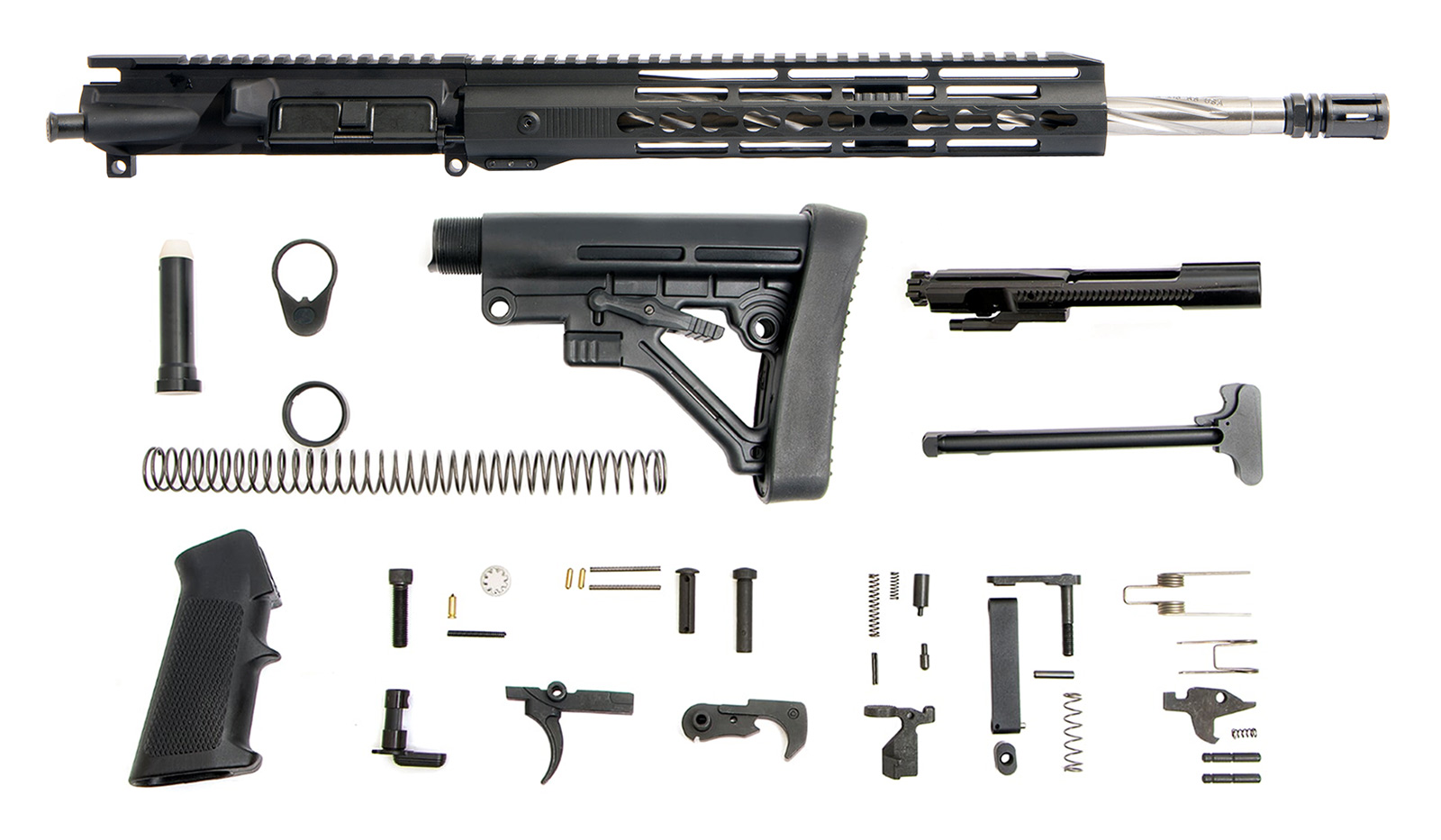 ar-15-rifle-kit-16-223-5-56-ss-spiral-13-cbc-g2-keymod-bolt-carrier-group-charging-handle-ar-15-buttstock-kit-ar-15-lower-parts-kit