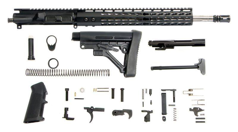 ar-15-rifle-kit-16-223-5-56-ss-straight-13-cbc-g2-keymod-bolt-carrier-group-charging-handle-ar-15-buttstock-kit-ar-15-lower-parts-kit