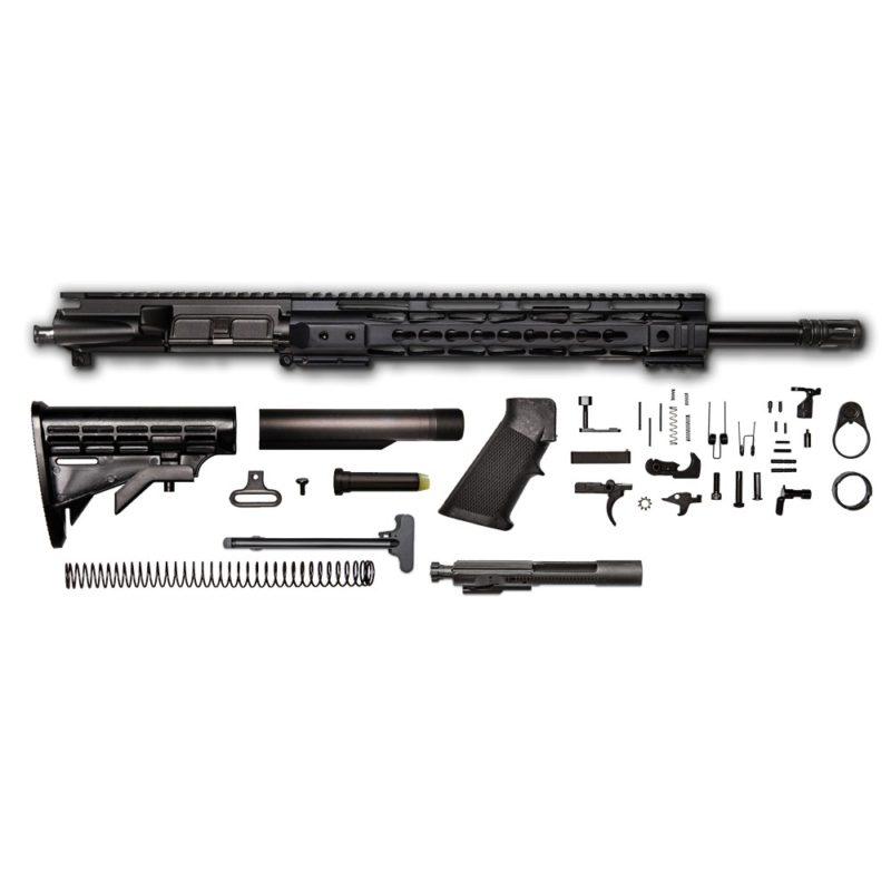 ar 15 rifle kit 16 5 56x45 upper assembly 1 7 twist m4 profile 12 cbc keymod bolt carrier group charging handle ar 15 buttstock kit ar 15 lower parts kit