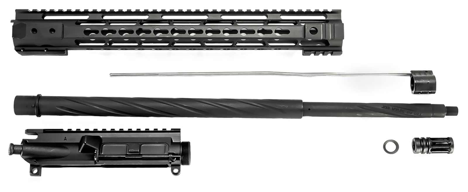 AR-15 Unassembled Upper Assembly - 20