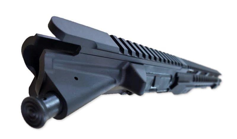 ar 15 upper assembly 16 223 5 56 ss straight flute 12 cbc keymod ar 15 handguard rail 3