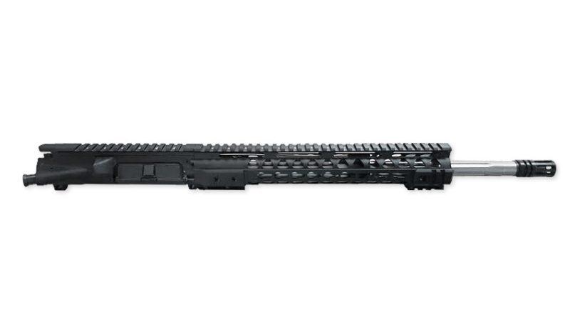 ar 15 upper assembly 16 223 5 56 ss straight flute 12 cbc keymod ar 15 handguard rail