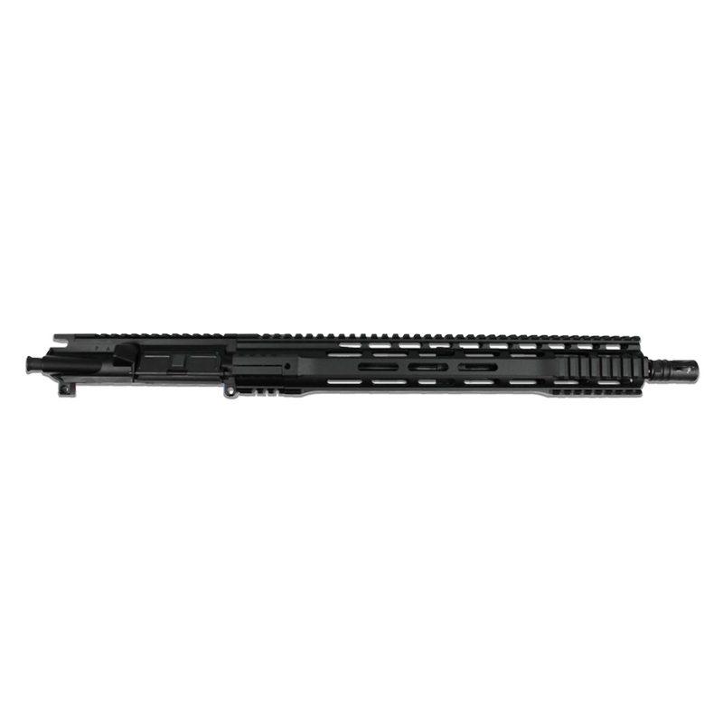 ar 15 upper assembly 16 5 56 x 45 1 8 15 cbc gen 3 m lok ar 15 handguard rail