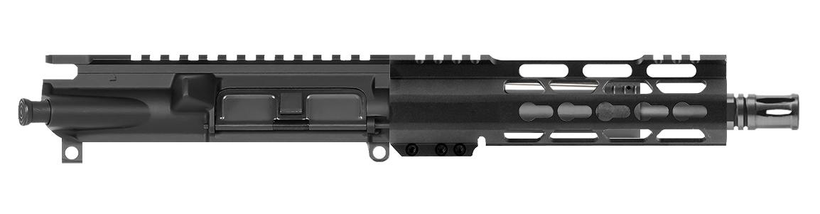 ar 15 upper assembly 7 223 5 56 7 cbc keymod ar 15 handguard rail cbc compensator