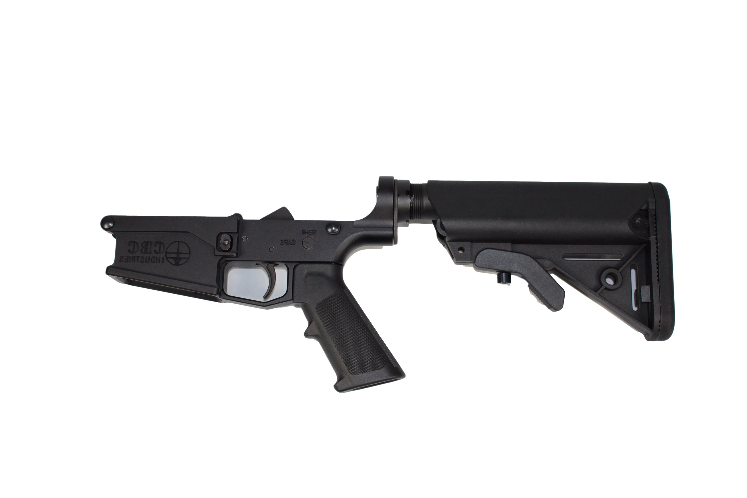ar 308 cbc complete lower receiver with sopmod buttstock