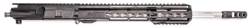 ar15 16 223 5 56 upper assy ss straight flute 12 hera arms keymod rail cc comp 2