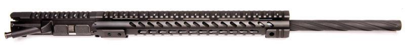 ar15 24 upper assembly 223 5 56 spiral flute 15 cbc arms rail keymod 2