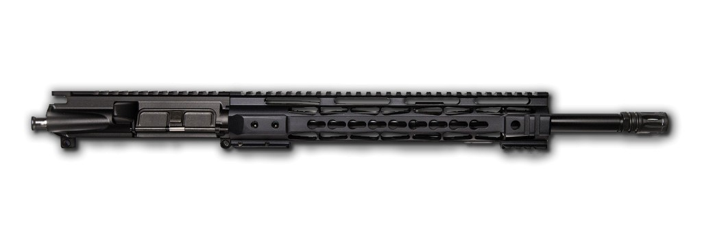 blemished ar 15 upper assembly 16 5 56x45 1 9 12 cbc arms keymod handguard rail