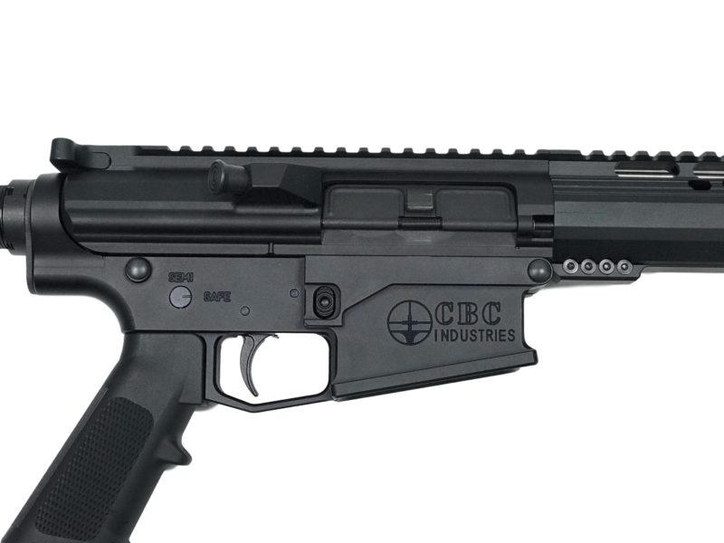 cbc ar 308 complete rifle 16 with 15 cbc arms m lock hand guard 3