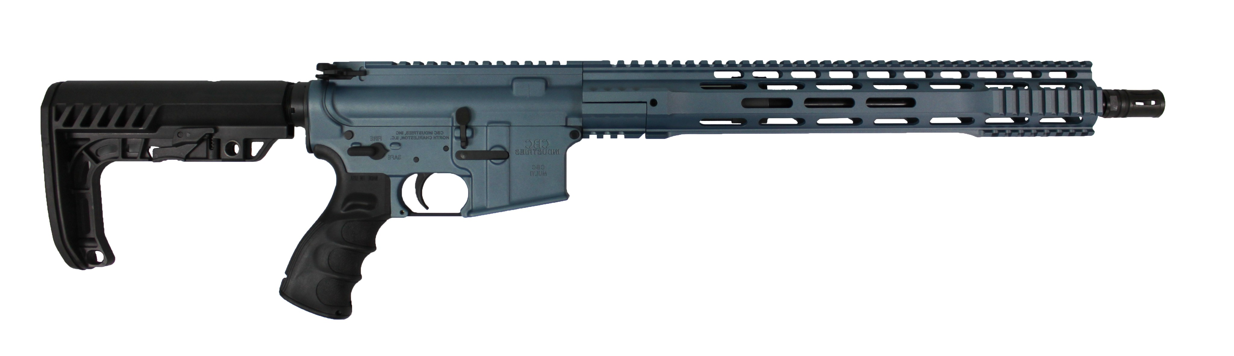 cbc industries limited edition blue titanium rifle