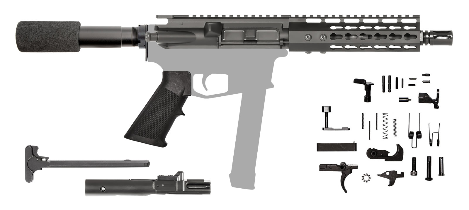 AR-9 AR Pistol Kit 7.5