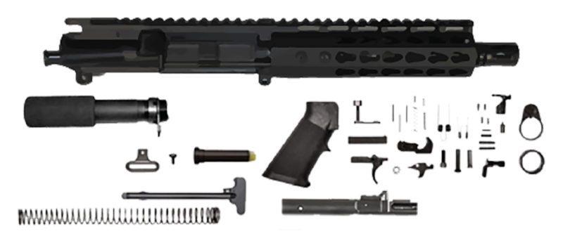 ar-15-pistol-kit-7-5-9mm-110-7-gen-2-keymod-ar-15-handguard-rail-non-lock-back