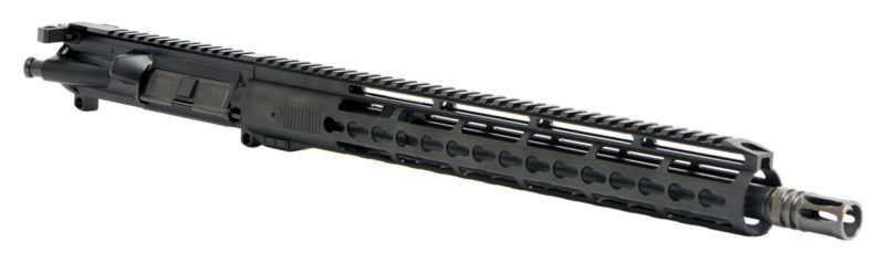AR-15 Complete Upper Assembly – 16″ / 300 AAC / 1:8 / 15″ Hera Arms Style Unmarked Keymod AR-15 Handguard / Rail / Ambi CH