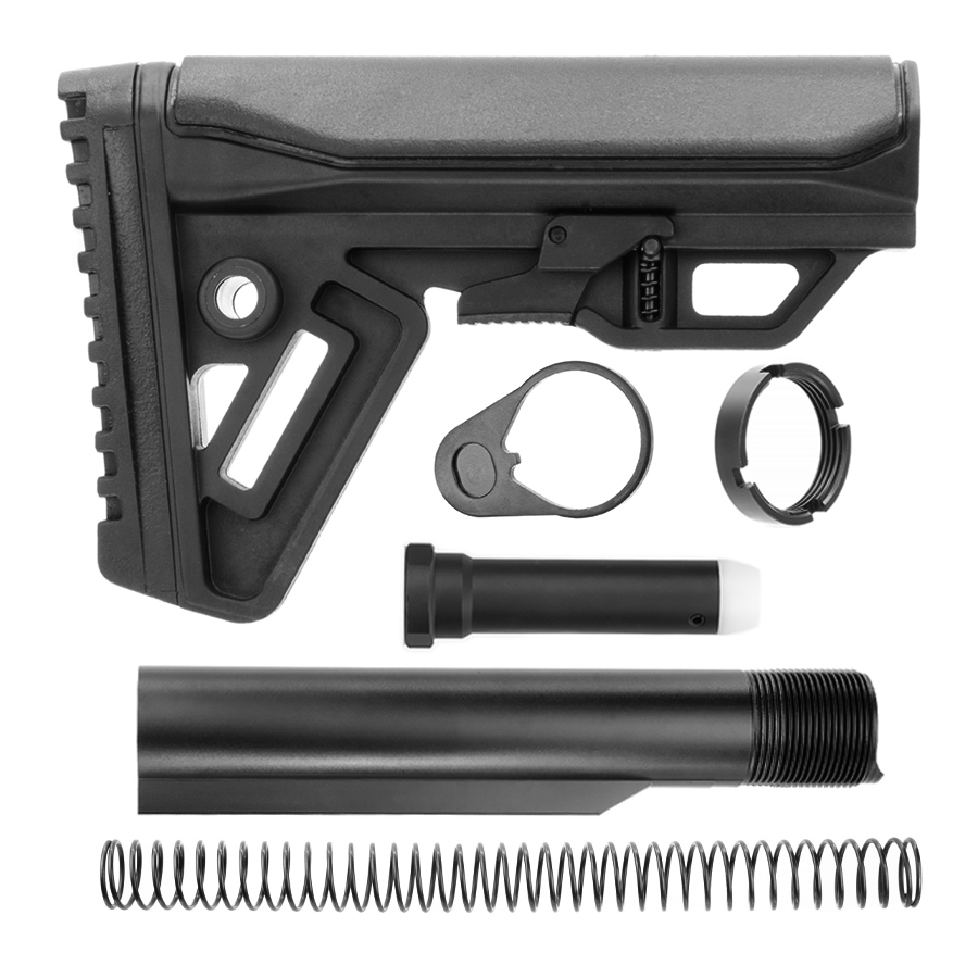 AR-15 Cobra Buttstock Kit with Buffer Tube