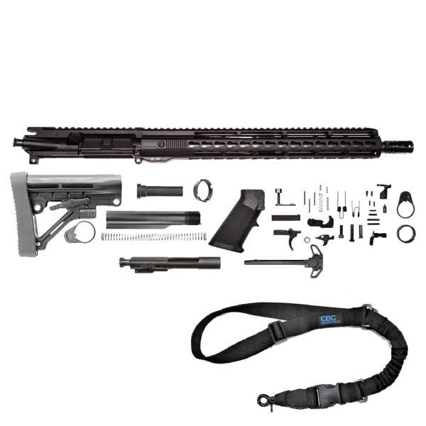 "AR15 Rifle Kit16"" 300AAC Blackout Keymod Handguard"
