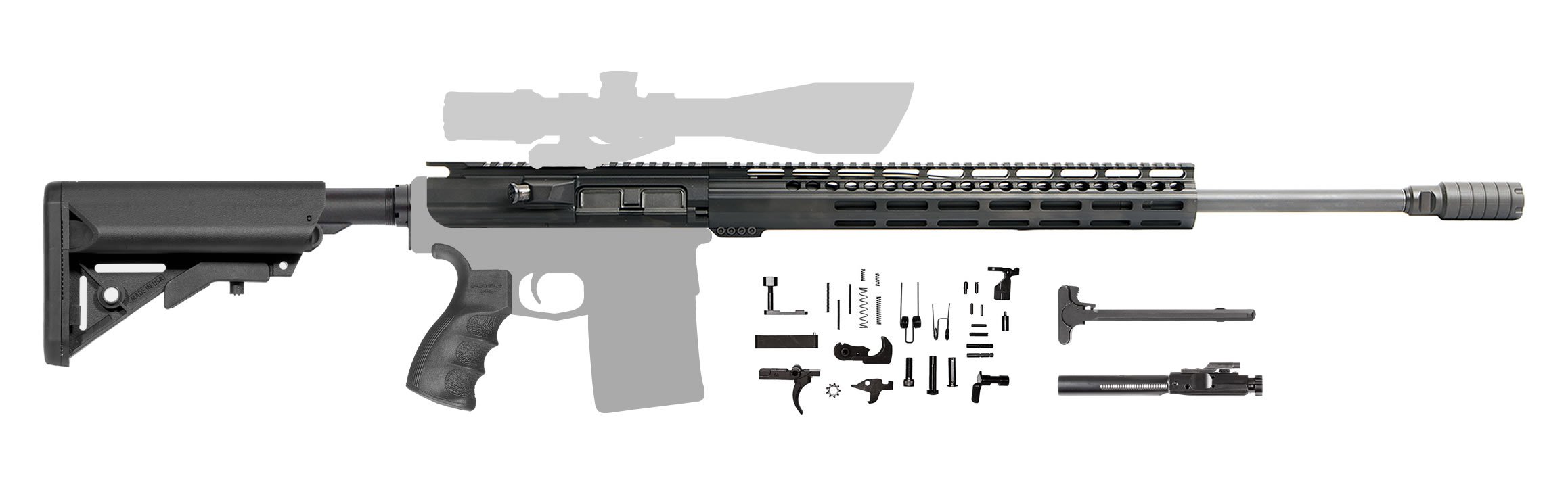 AR-10 Creedmoor Rifle Kit - 22