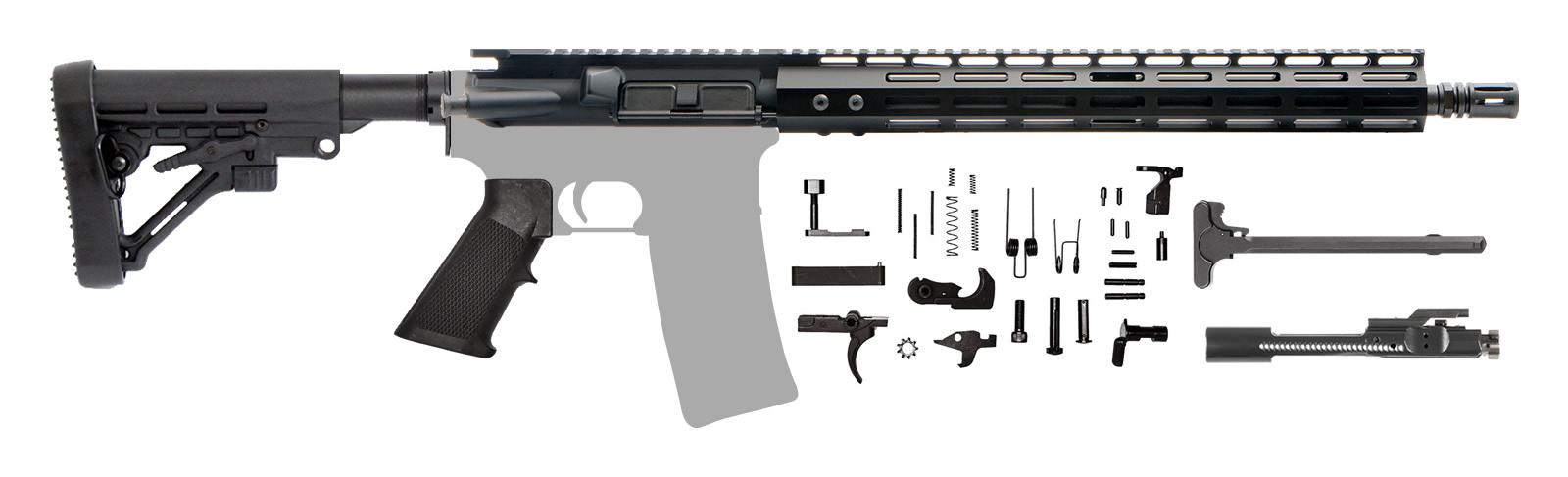 "CHS-2 Patrol AR-15 Rifle Kit 16"" with M-LOK Handguard & Adjustable Buttstock"