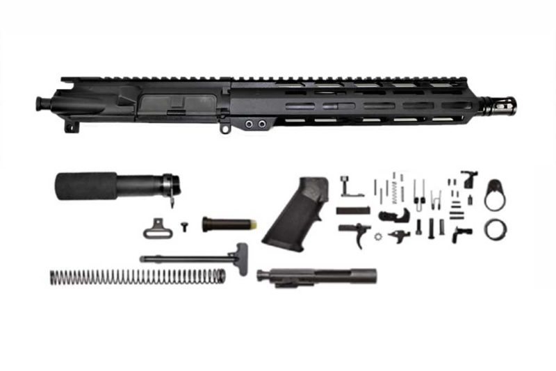 ar-15-pistol-kit-10-5-300aac-17-10-cbc-arms-m-lok-ar-15-handguard-rail-bolt-carrier-group-charging-handle-ar-15-lower-parts-kit