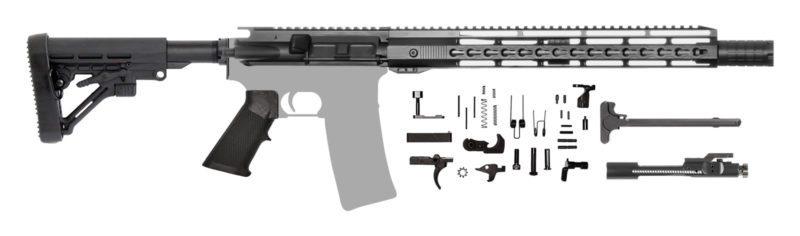 "AR-15 Rifle Kit 14.5"" Pinned & Welded"