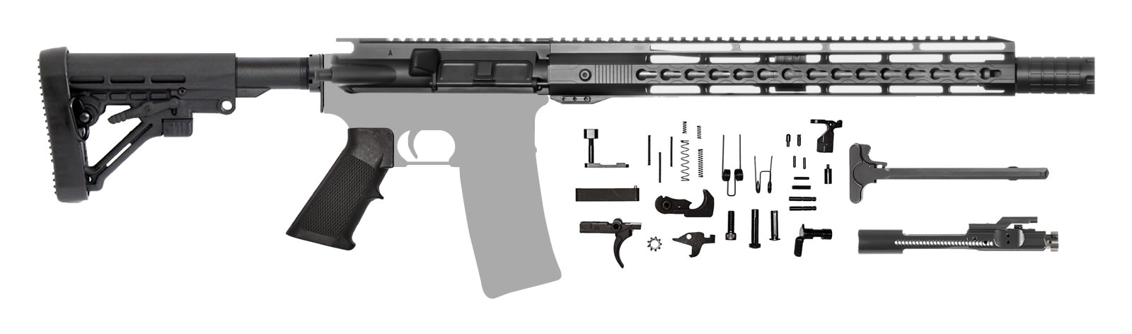 AR-15 Rifle Kit 14.5