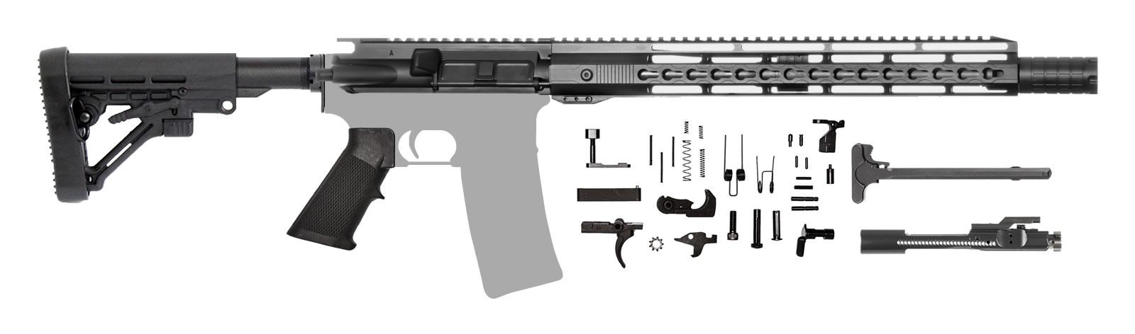 AR-15 Rifle Kit 14.5
