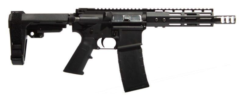 """AR-15 Complete AR Pistol - 7.5"""" with M-LOK Rail"""