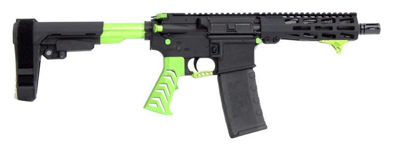 cbc-ps2-forged-aluminum-ar-pistol-alien-green-223-wylde-7-5″-barrel-m-lok-rail-sba3-brace