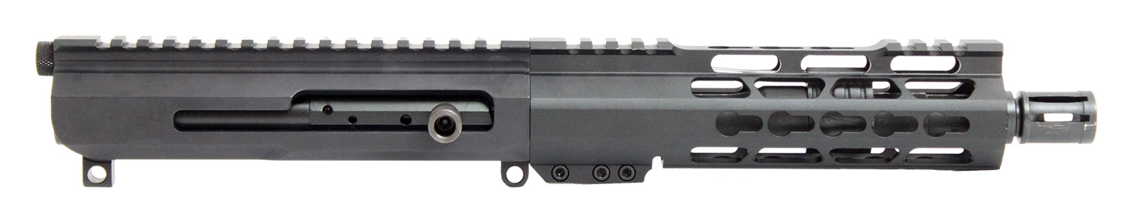 AR15 Complete Upper Assembly – 7 5 Inch /  223 Wylde / Side Charge / Keymod  / 160016