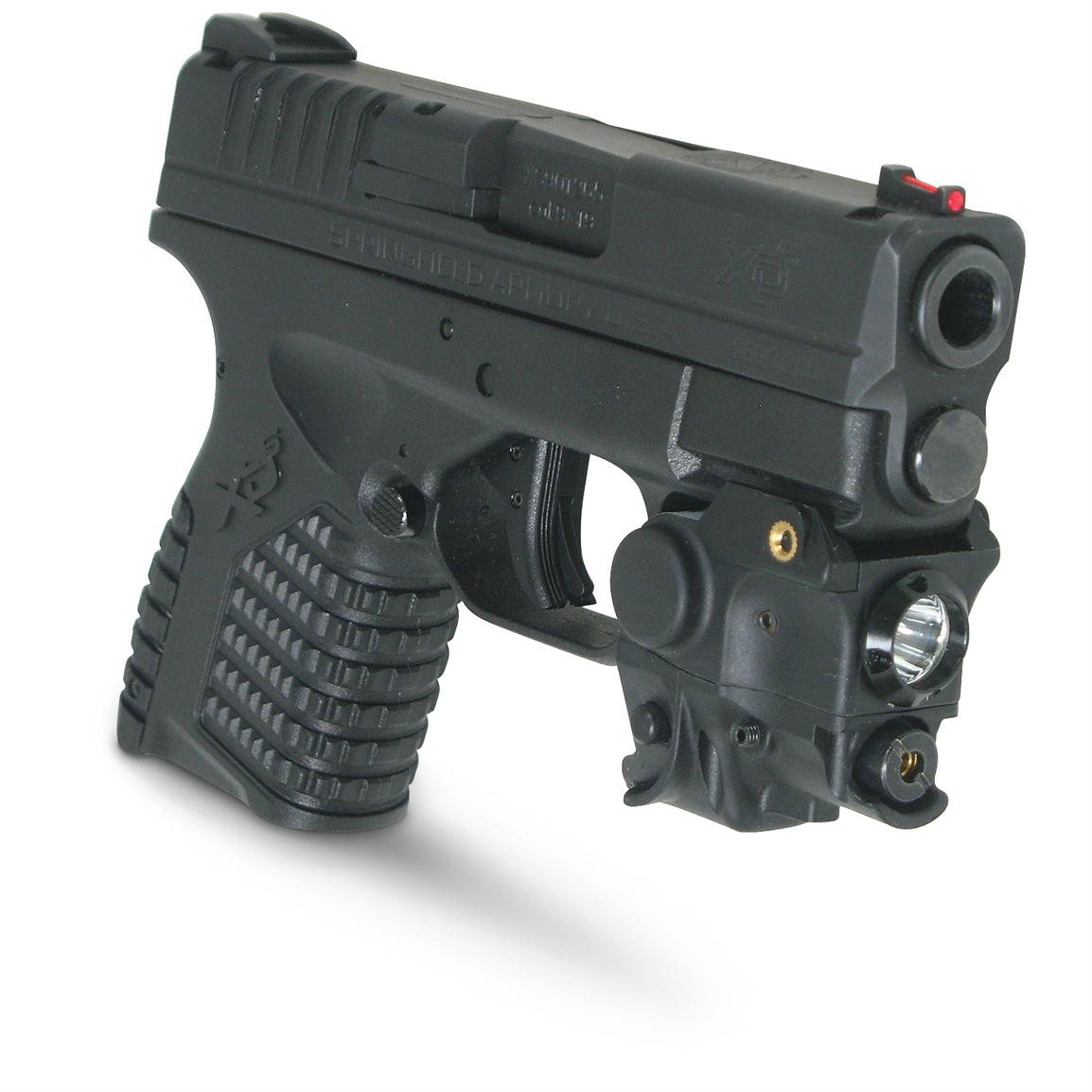 AR-15 Laser Optic Flashlight Combo - XTS-CRLL