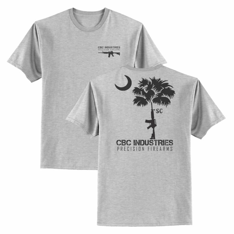 cbc-industries-t-shirt-palmetto-tree-grey