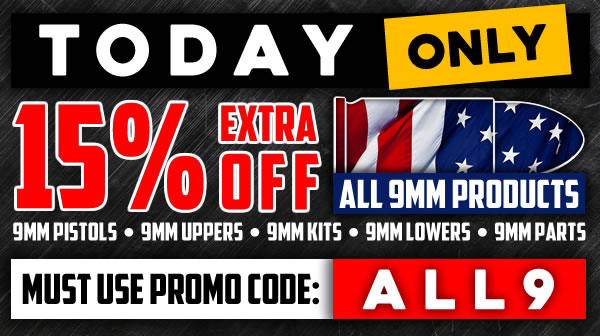 AR-9 Uppers, AR-9 Kits, & AR-9 Rifles & Parts Sale